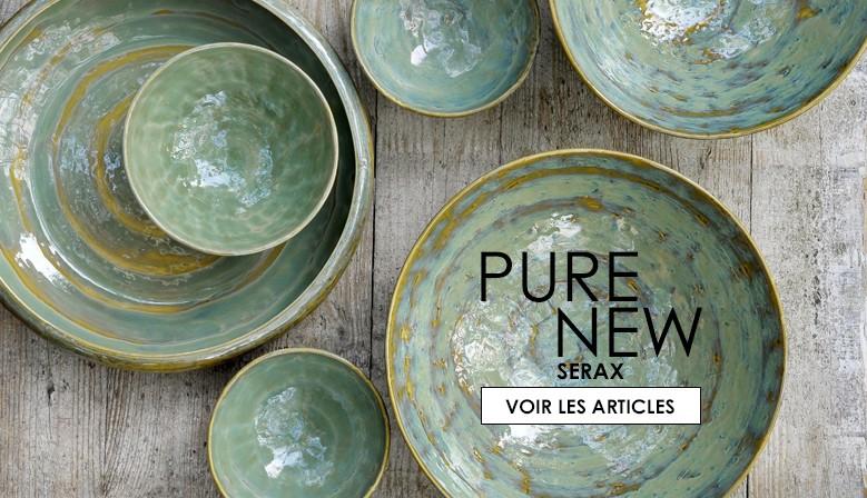 Vaisselle Pure new Pascale Naessens pour Serax