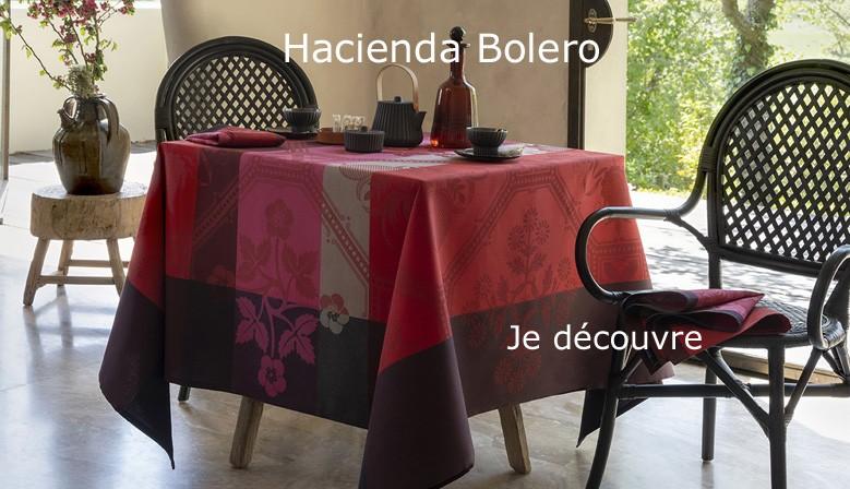 Nappes enduites Hacienda Bolero, Le Jacquard Français